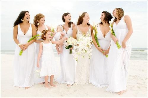 Beach Wedding Bridesmaid Dresses Pictures