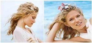 Beach Wedding Hairstyles Flowers Ideas