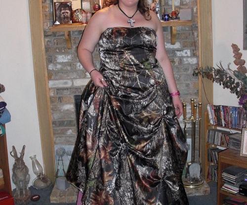 Camo Prom Dresses 2013 Patterns