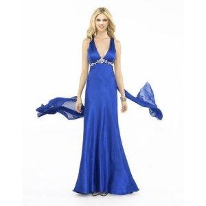 Deep V Neck Prom Dress for Sale
