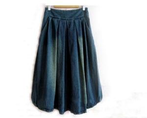 Denim Skirts for Women Long