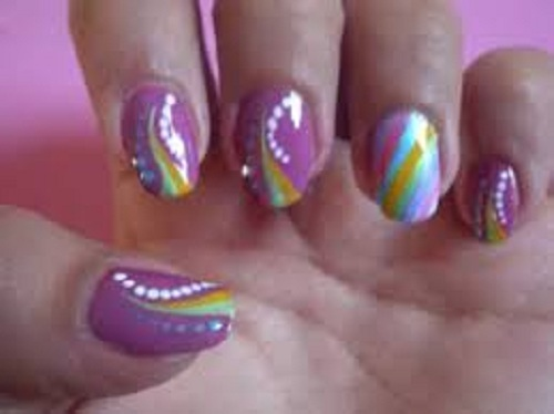 Easy Short Nail Designs Images