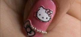 Hello Kitty Nail Designs Short Nails Tips to Make at Home