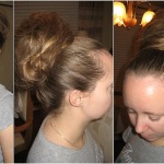Long Hair Messy Updos Easy 2013
