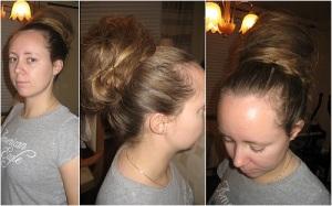 Long Hair Messy Updos Easy 2013