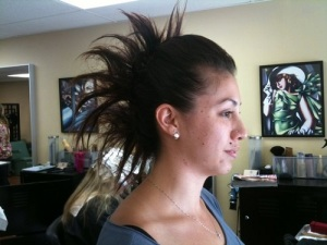 Long Hair Mohawk Updos Ideas