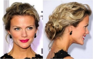 Long Hair Updos Messy 2013