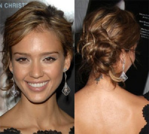 Long Hair Updos Messy Ideas