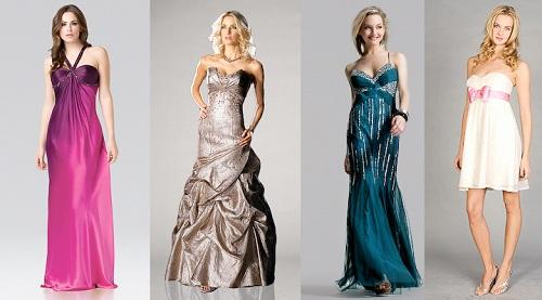 Long Neutral Prom Dresses UK