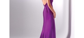 Long Purple Prom Dresses for Fascinating Girl