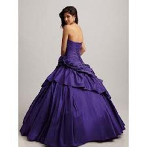 Long Purple Prom Dresses UK