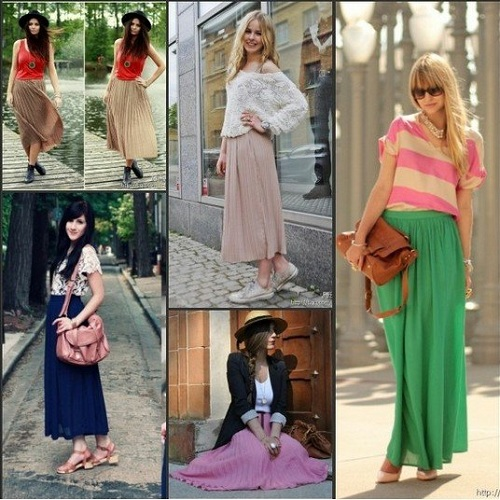 Long Skirts for Women 2013