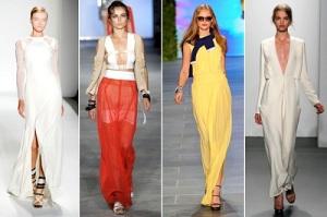 Long Spring Skirts 2013