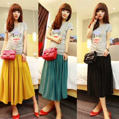 Long Spring Skirts Designs