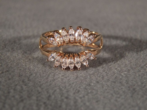Marquise Ring Wraps Yellow Gold 2013