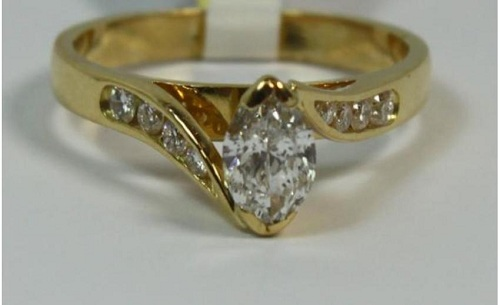 Marquise Ring Wraps Yellow Gold Images