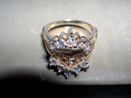 Marquise Ring Wraps Yellow Gold UK