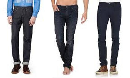Men's Skinny Jeans with Boots