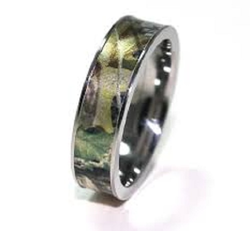 Mossy Oak Wedding Rings for Her Images