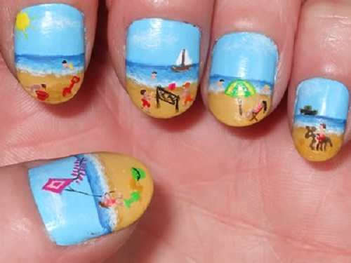 Nail designs for short nails easy fashion female nail designs for short nails easy prinsesfo Gallery