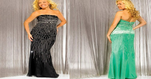 Party Dresses for Plus Size Women in Ireland