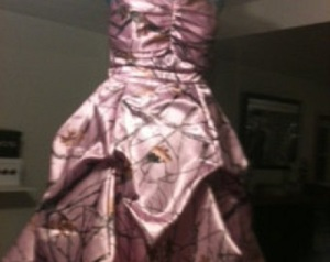 Pink Camo Dresses for Prom Pictures