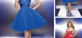 Prom Short Puffy Dresses for Cute Teenagers