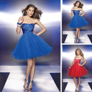 Prom Short Puffy Dresses Ideas