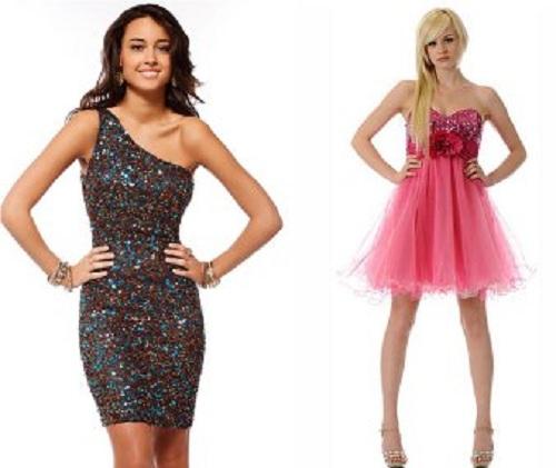 Prom Short Puffy Dresses Styles