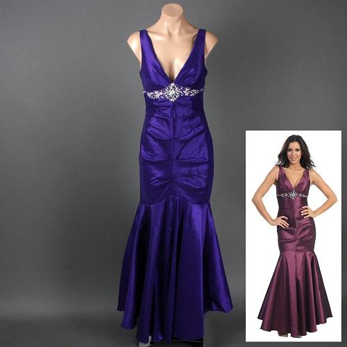 Purple Mermaid Dresses Ideas