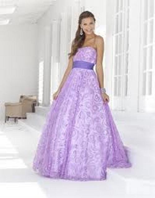 Purple Prom Dresses Images