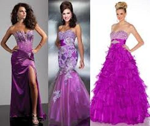 Purple Prom Dresses Long