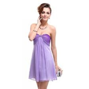 Purple Prom Dresses Short
