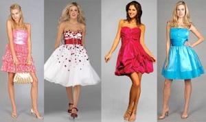 Short Colorful Dresses Spring