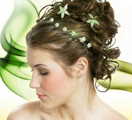 Simple Beach Wedding Hairstyles 2013