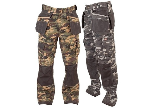 Camo style cargo pant for strong men 2019