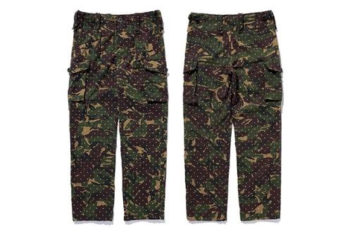 Camo style cargo pant for strong men