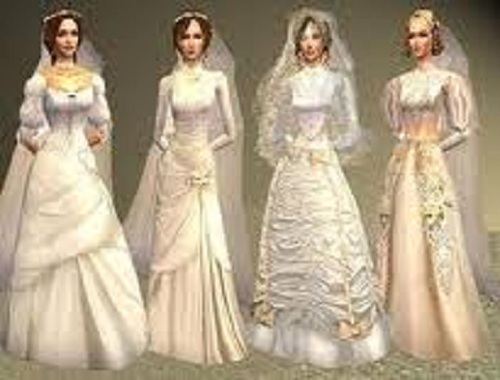 Victorian Inspired Wedding Dress Ideas
