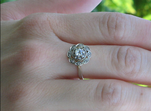 Vintage Wedding Ring Sets for Women