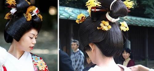 Wedding Hairstyles Japanese Kimono