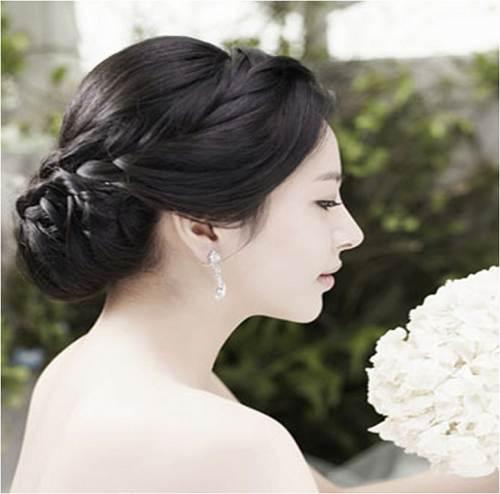 Wedding Hairstyles Korean Simple