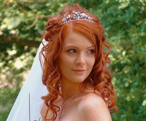 Wedding Hairstyles Red Hair Ideas