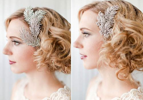 Wedding Hairstyles Retro Ideas