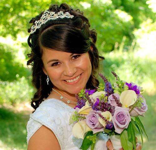 Wedding Hairstyles Round Face 2013