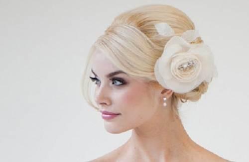 Wedding Hairstyles Side Swept Bun