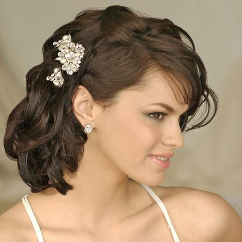 Wedding Hairstyles Side Swept Ideas