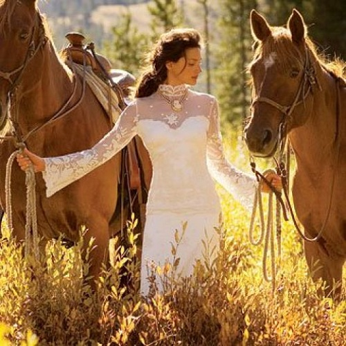 Western Wedding Dress Patterns