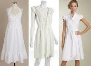 White Summer Dresses for Women Ideas
