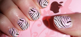 Zebra Print Nails the Stunning Animal Print Art Ideas