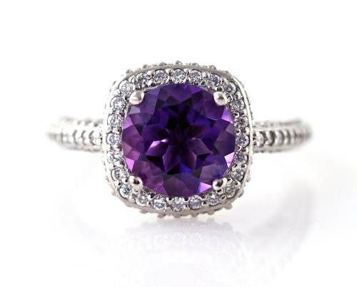 Amethyst Engagement Rings Meaning